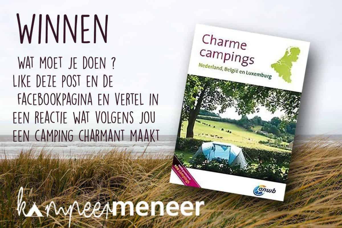 Winactie: Reisgids ANWB Charme campings Benelux (Afgerond)