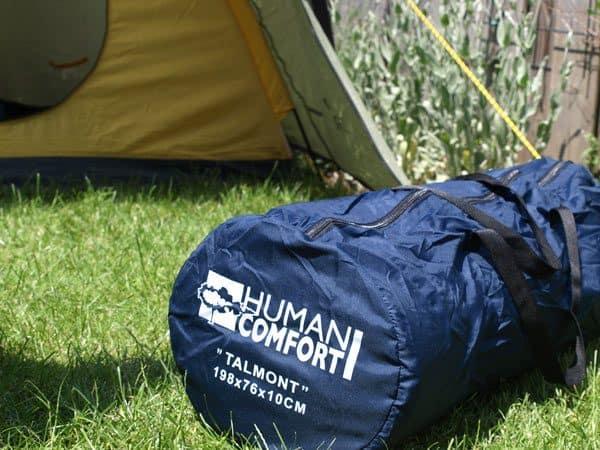 KAMPEERTIPS UITRUSTING  Review Human Comfort Talmont slaapmat, slaapt hij echt als thuis?