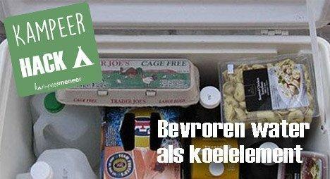 Kampeerhack: Zo verspil je geen ruimte in de koelbox