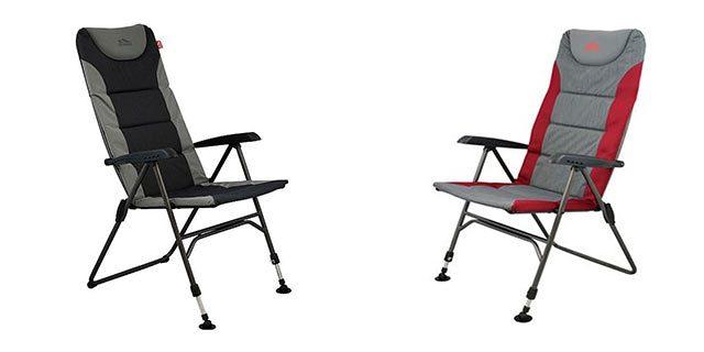 KAMPEERPRAAT  Review: campingstoel + voetenbankje De Waard Munte