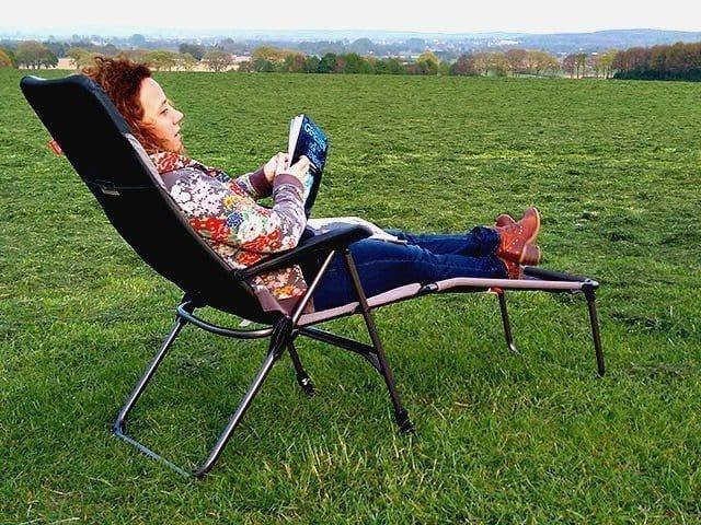 Review: campingstoel + voetenbankje De Waard Munte