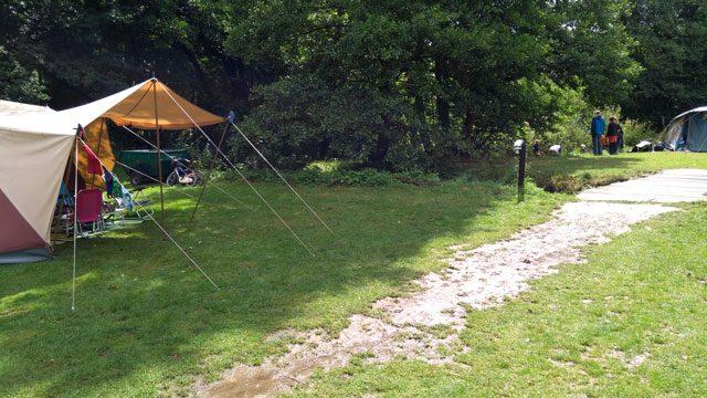 CAMPINGS  Camping Tonny, een echte  outdoor camping in de Ardennen