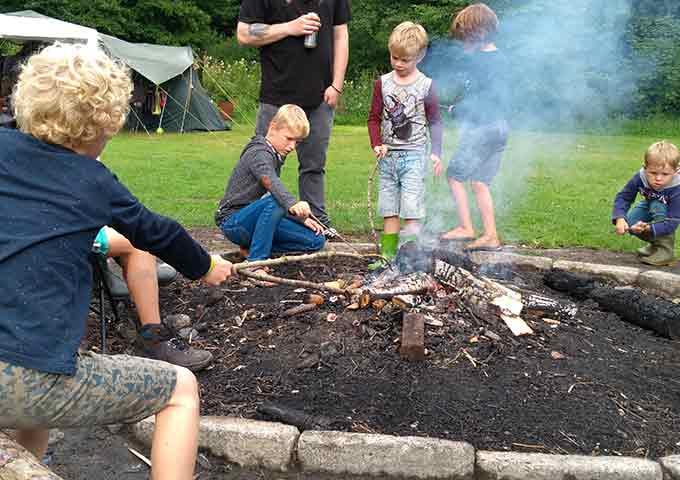 Camping Tonny, een echte  outdoor camping in de Ardennen