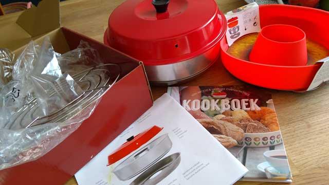 Nieuw Omnia oven, review camping oven voor op gas - Kampeermeneer PI-25