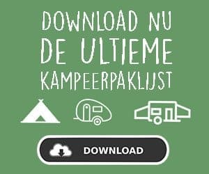download paklijst kamperen