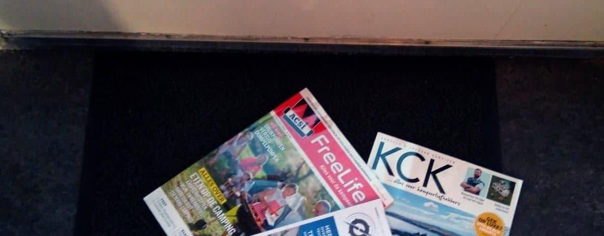 Fonkelnieuw Alle tijdschriften over kamperen op een rij. Welke moet je lezen JY-82
