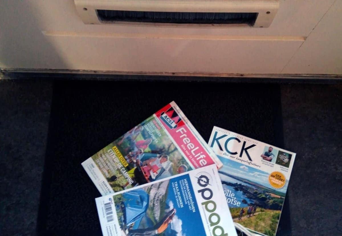 Alle tijdschriften over kamperen op een rij. Welke moet je lezen?
