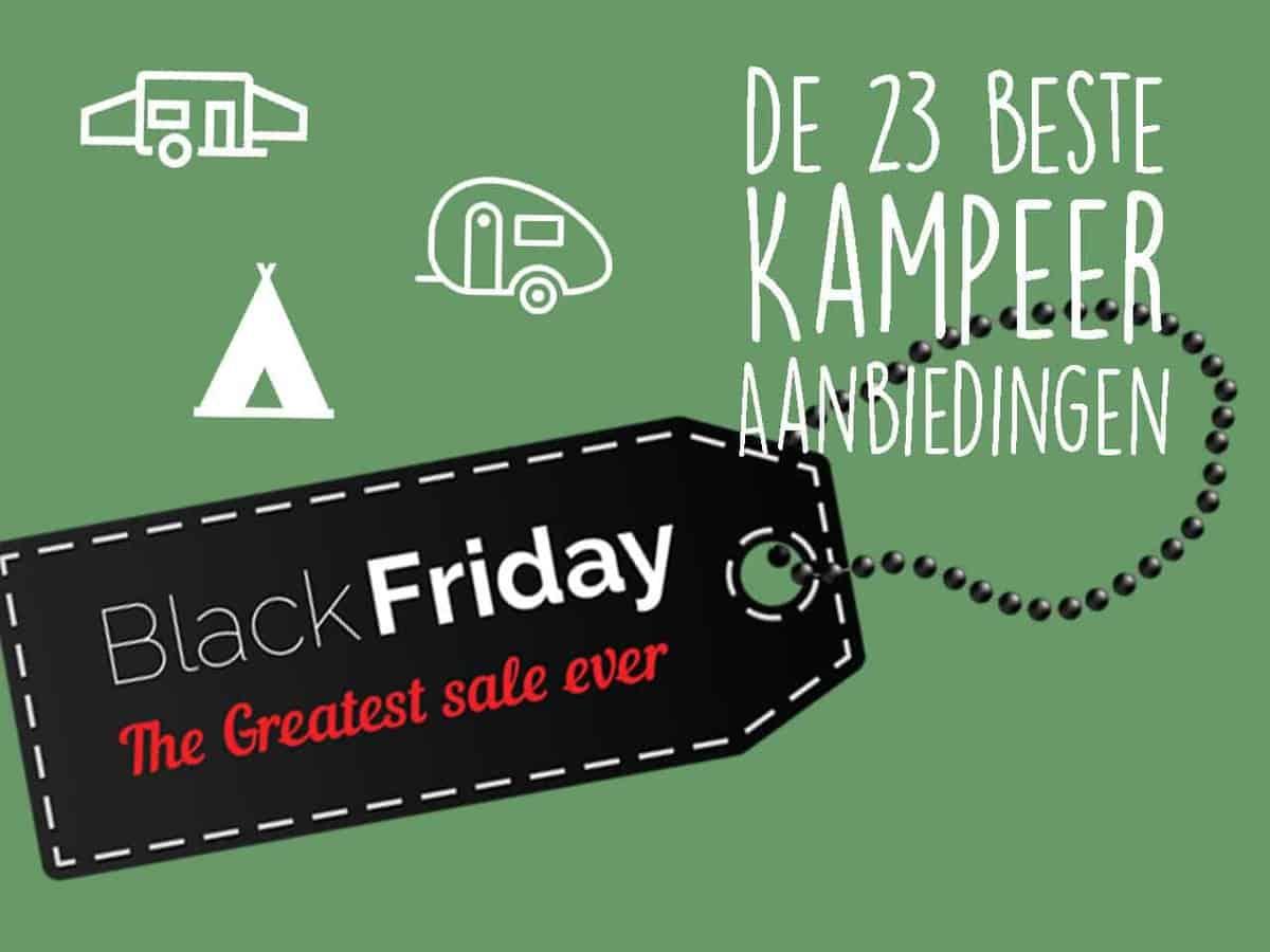 De beste Black Friday Kampeeraanbiedingen op een rij