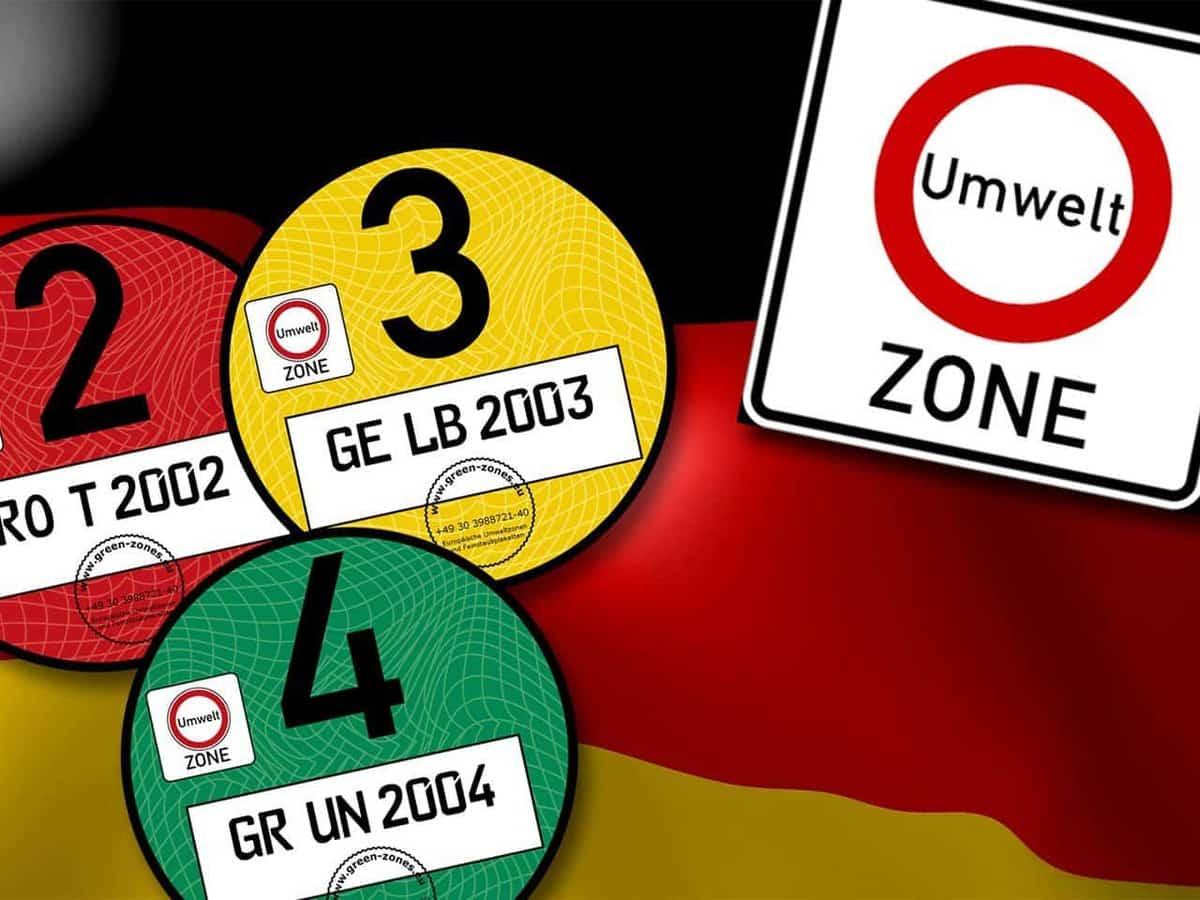 Milieusticker Duitsland? Alles wat je moet weten over de umweltsticker