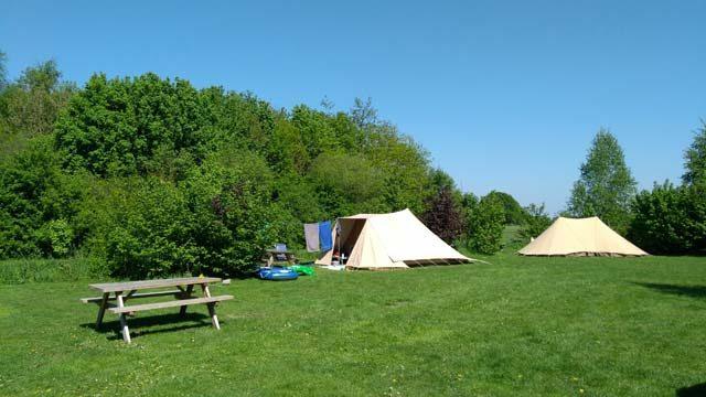 GLAMPINGS KLEINE CAMPINGS IN DE NATUUR KLEINE CAMPINGS NEDERLAND  Campingtip: Natuurkampeerterrein De Duiventoren bij Breda