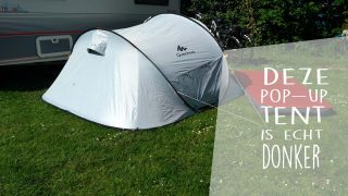 Review: Is de extra donkere Quechua Fresh and Black de perfecte festival of kindertent?