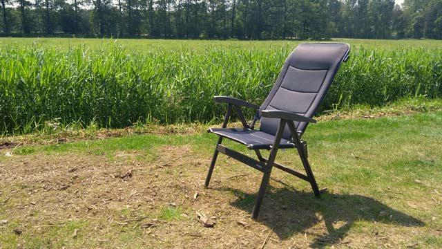 KAMPEERTIPS UITRUSTING  Review: Campingstoel Westfield Avantgarde 101