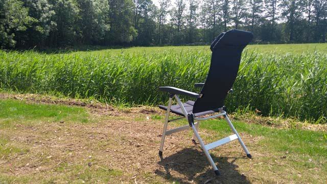 HANDIGE KAMPEERSPULLEN KAMPEERMEUBELEN  Review: Campingstoel Isabella Thor