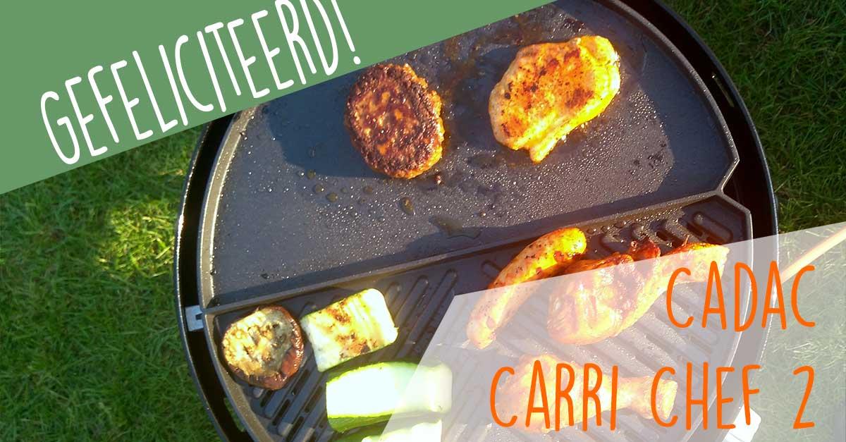 Heb jij de Cadac Carri Chef 2 gewonnen?