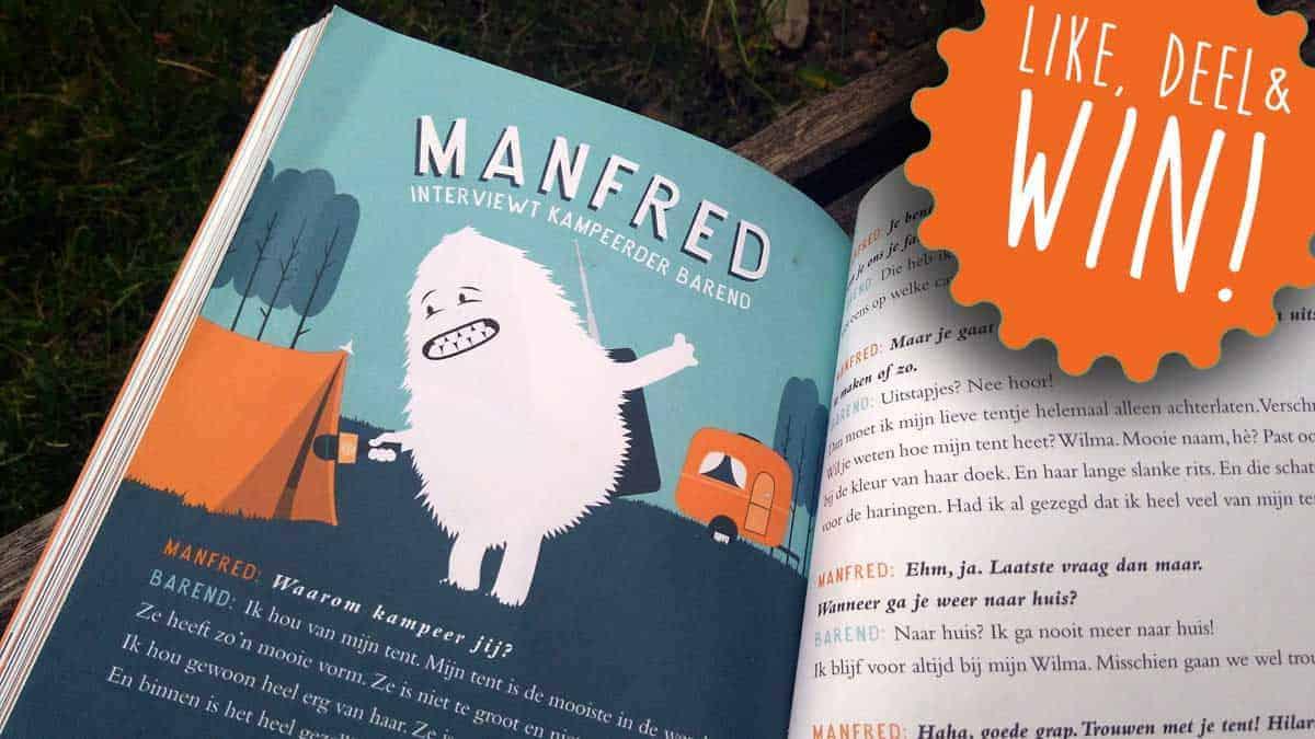 De Happy Camper, hét kinderboek over kamperen van 2018! + WINACTIE