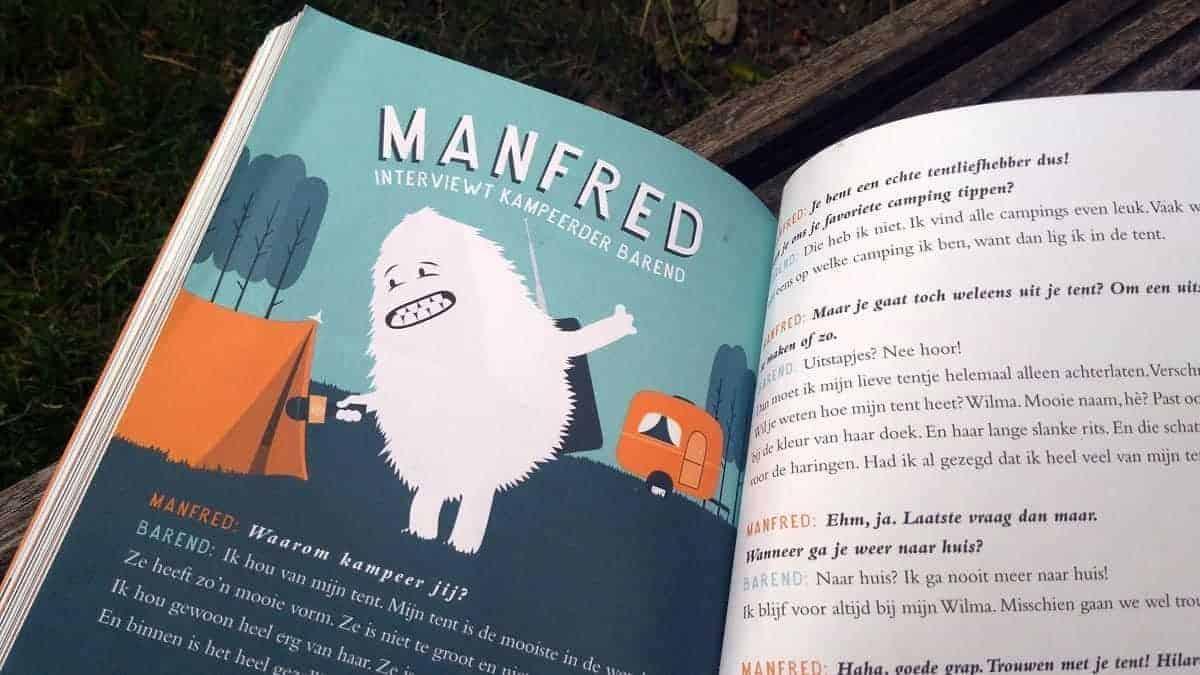 De Happy Camper, hét kinderboek over kamperen van 2018!