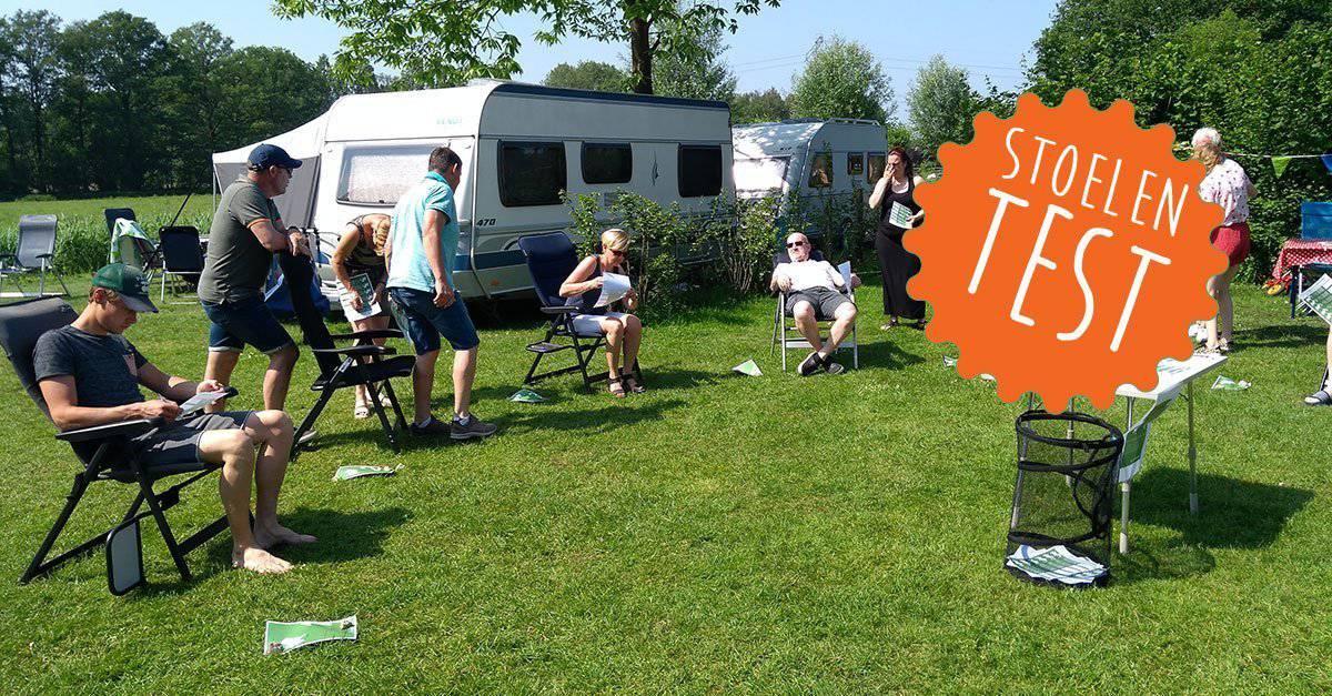 Campingstoelen Test: Welke kampeerstoel zit nou het beste?