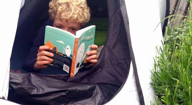 KAMPEERTIPS KINDEREN WINACTIE  De Happy Camper, hét kinderboek over kamperen van 2018! + WINACTIE