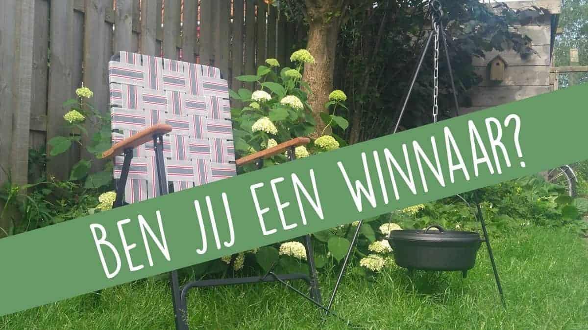 Winnaars Bo-camp Urban Outdoor Dutch oven en retro stoel bekend!