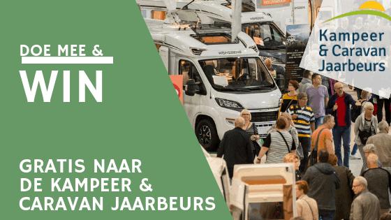 Gratis naar de Kampeer & Caravan Jaarbeurs in Utrecht?