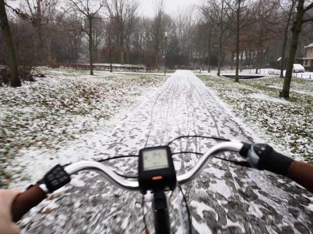 KAMPEERPRAAT PERSOONLIJK  Het elektrische fiets experiment, de 339 km update