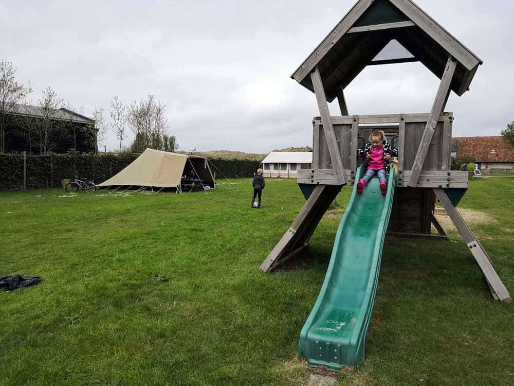 Campingtip: Kleine camping \u2018t Wantij op het mooiste stukje van Terschelling
