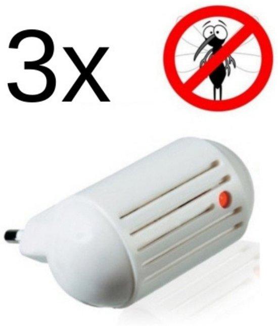 Anti muggen stekker 3 stuks - Anti insecten - Muggenstekker