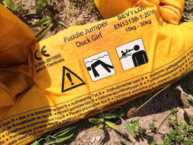 KAMPEREN MET KINDEREN  Review: Sevylor Puddle Jumper Lekker onbezorgd zwemmen