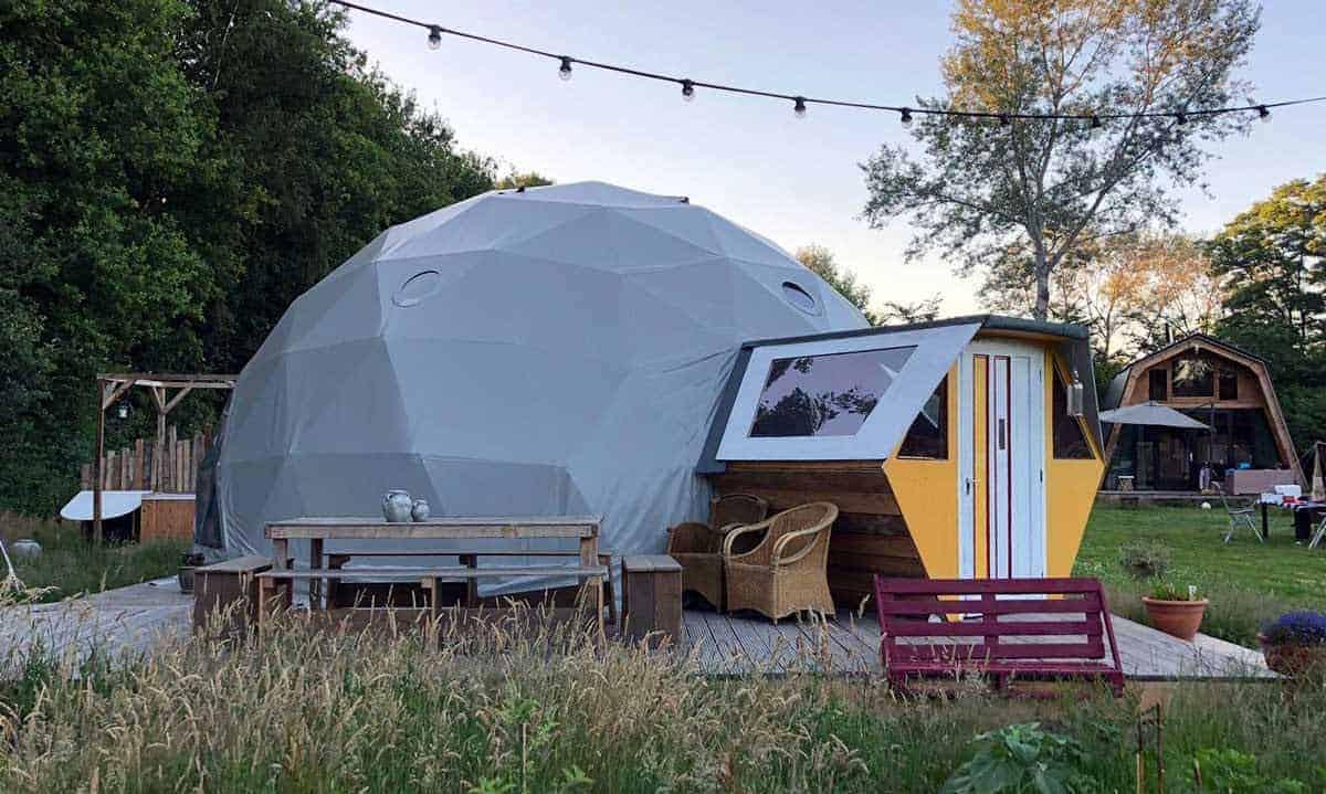 Camping BuitenLand hippie life gewoon in Drenthe
