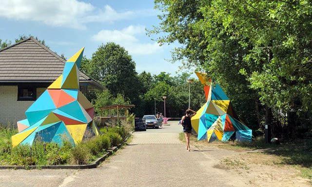 GLAMPINGS KLEINE CAMPINGS NEDERLAND  Camping BuitenLand hippie life gewoon in Drenthe