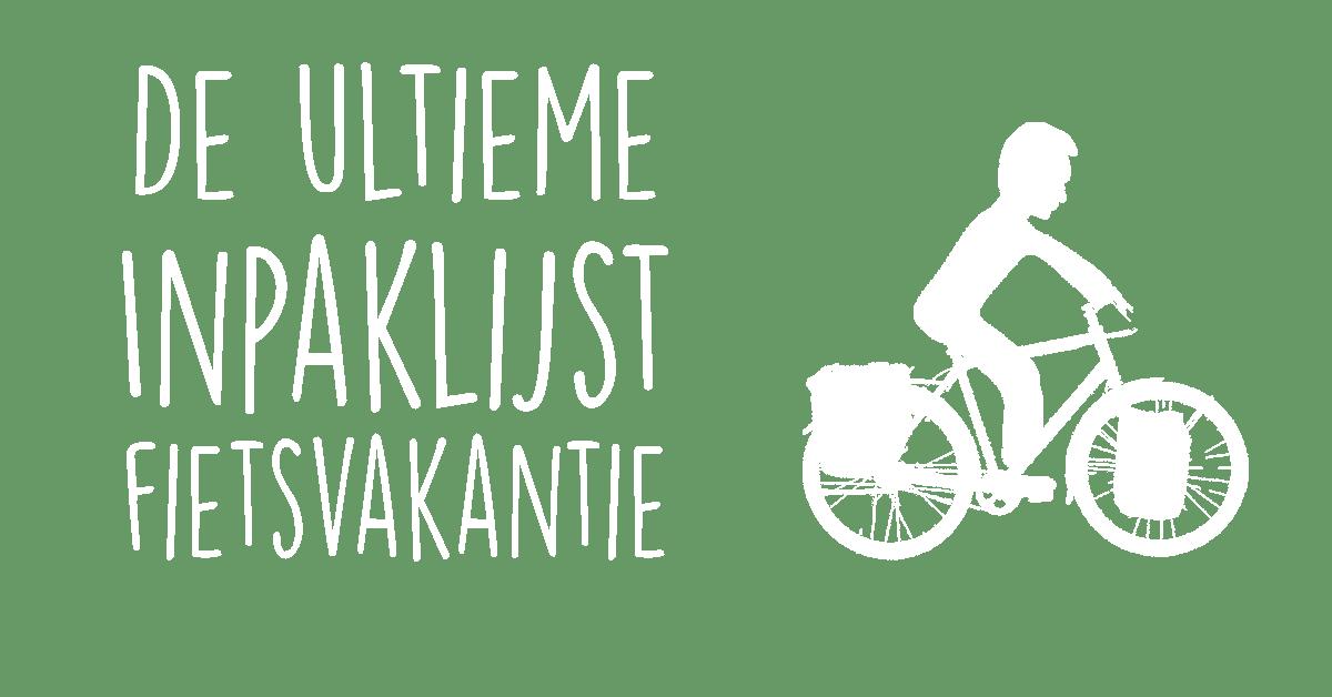 paklijst fietsvakantie