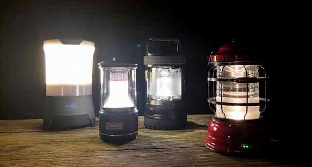 test beste campinglamp