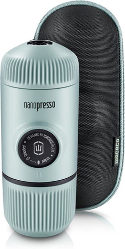 Wacaco Nanopresso Artic Blue - portable espresso machine