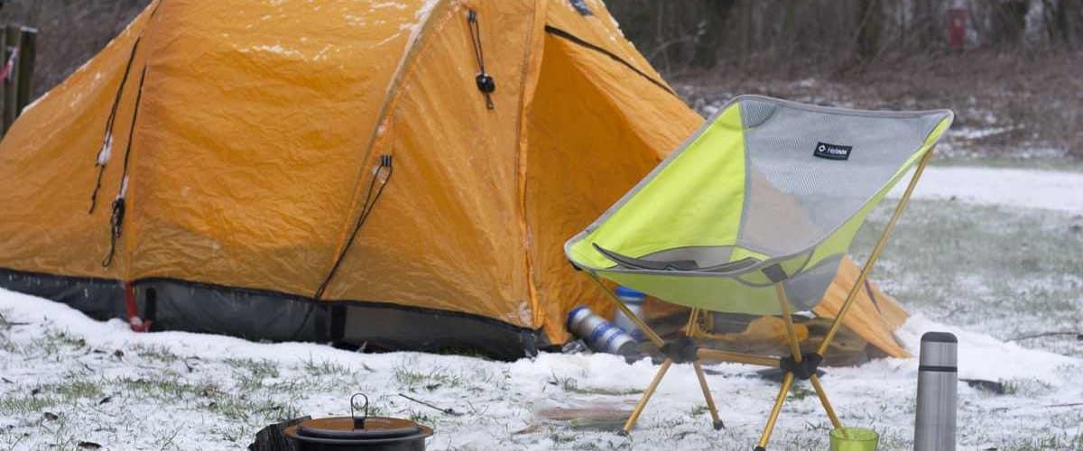 winterkamperen natuurkampeerterrein