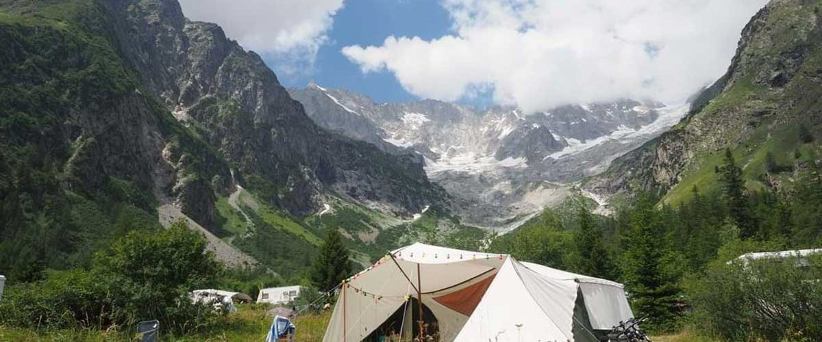 camping glaciers zwitserland groot