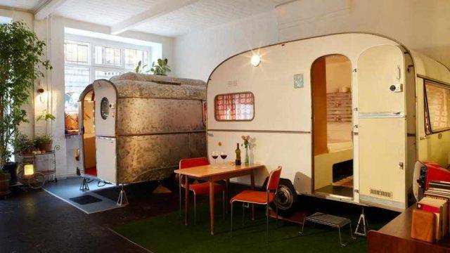 indoor kamperen