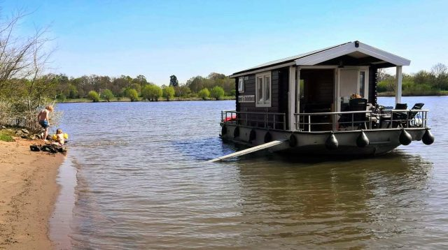 blokhutboot biesbosch