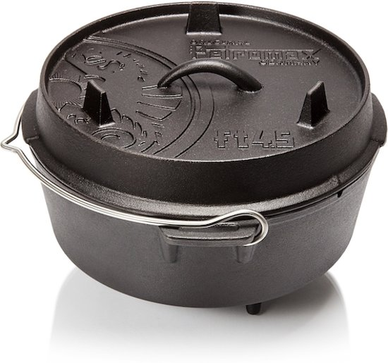 Petromax Dutch oven ft 4,5 met pootjes