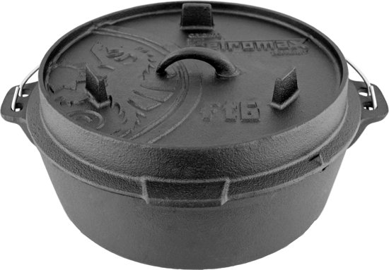 Petromax - Gietijzeren pan - Dutch Oven FT6 - 7,6 Liter