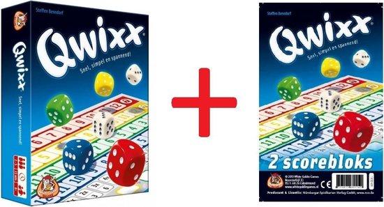 Qwixx set - Dobbelspel - met extra scoreblocks