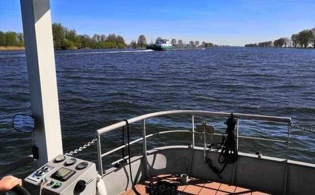 snelheid blokhutboot
