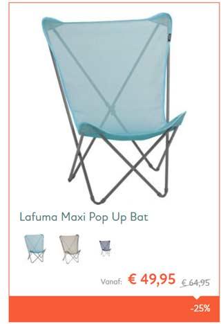 aanbieding lafumma stoel