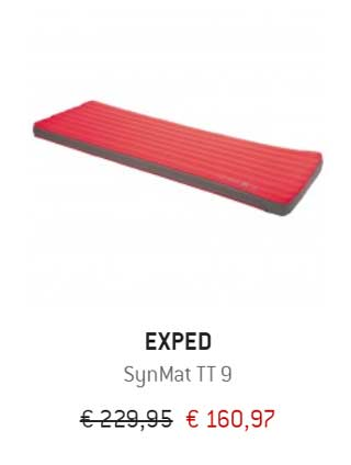 exped syncmat aanbieding