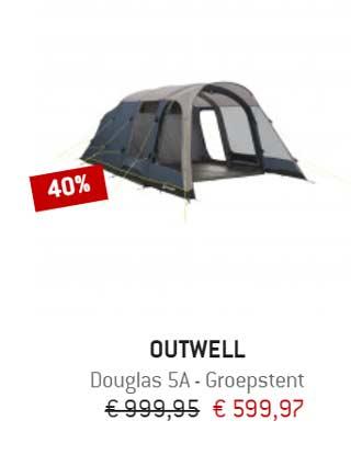outwell tent aanbieding
