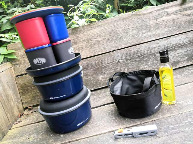 gsi outdoor camping pannenset