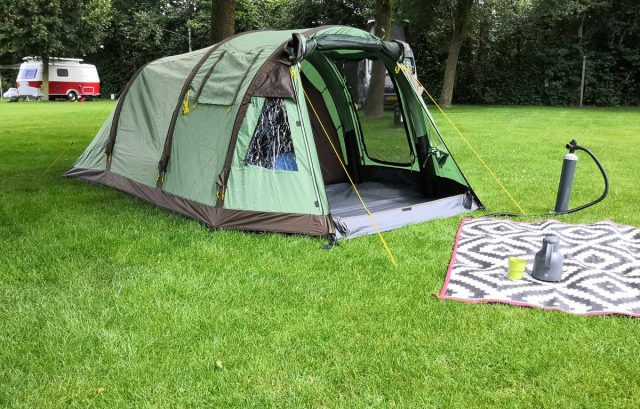 redwood oppompbare tent