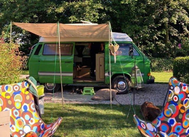 buitenwedde natuurcamping T3 camper