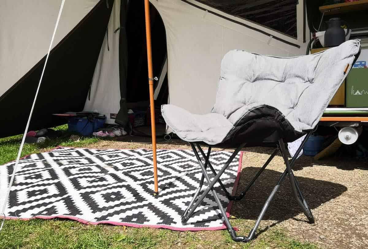 vlinderstoel camping