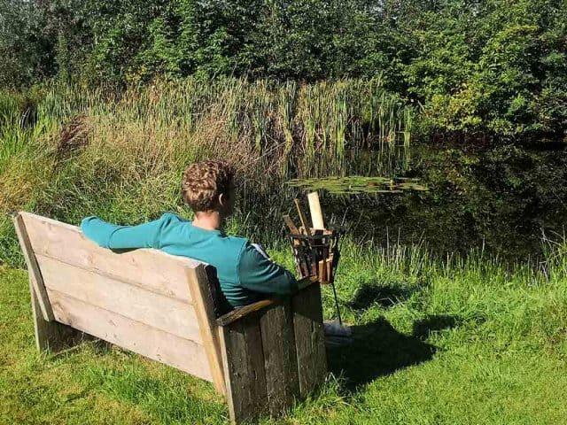 natuurcamping friesland fraai