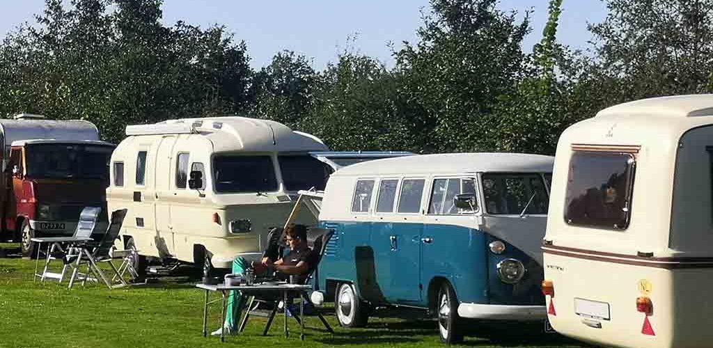 oldtimer camping fraai